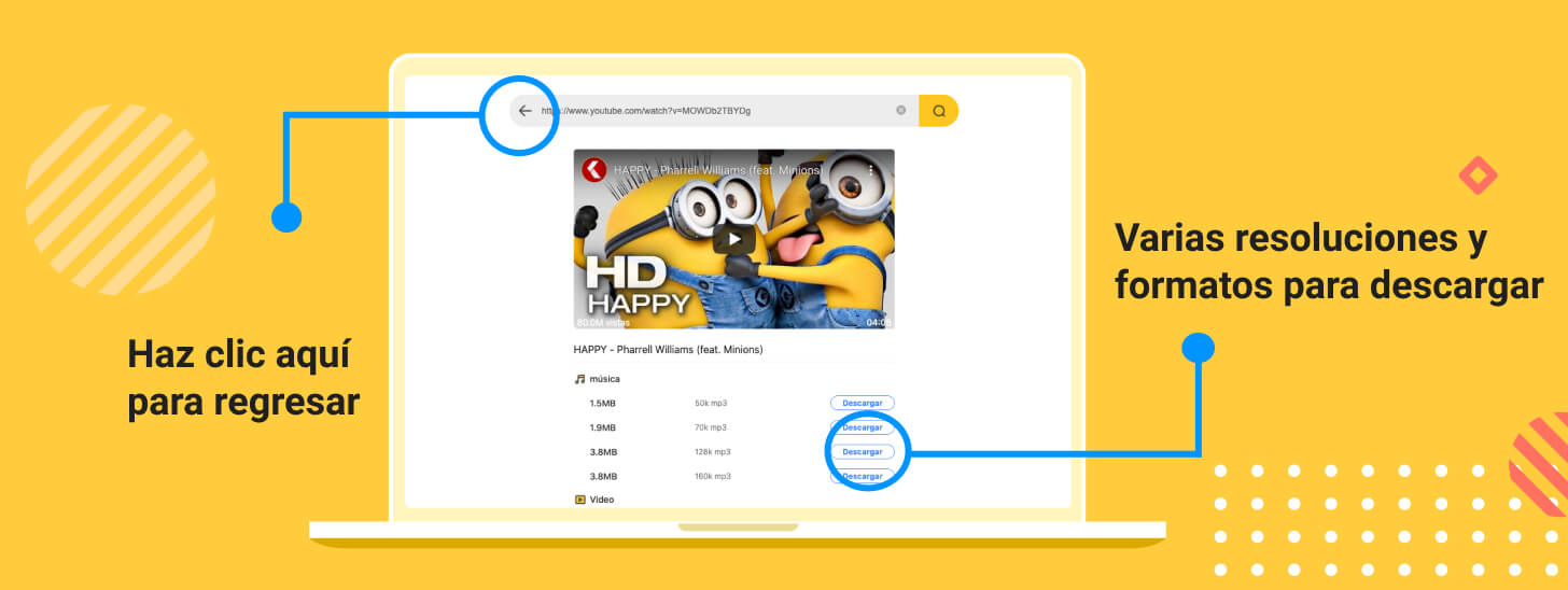 descargar videos de youtube en linea sin programas