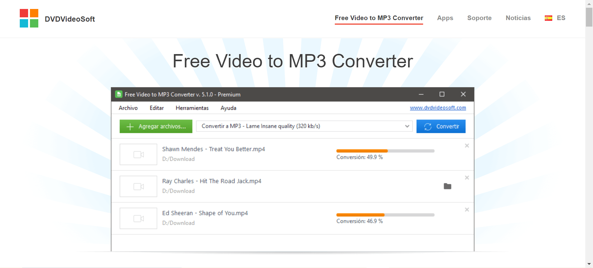 convertidor online video a audio