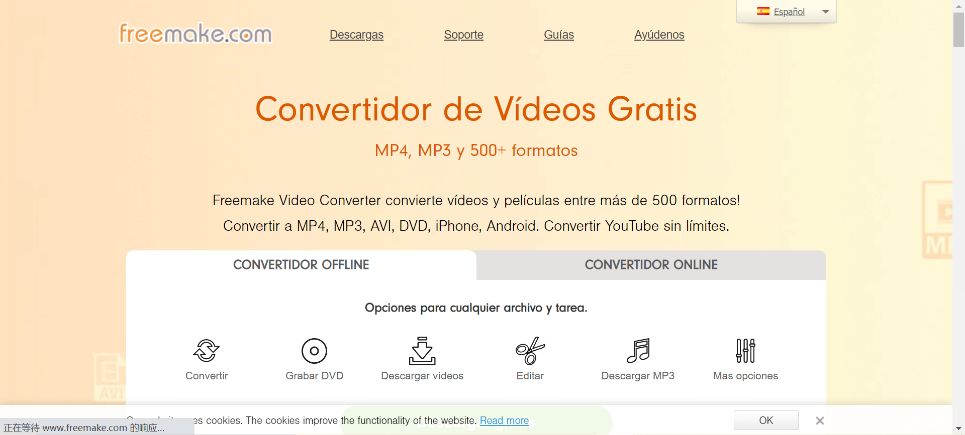 convertidor de video a audio online gratis
