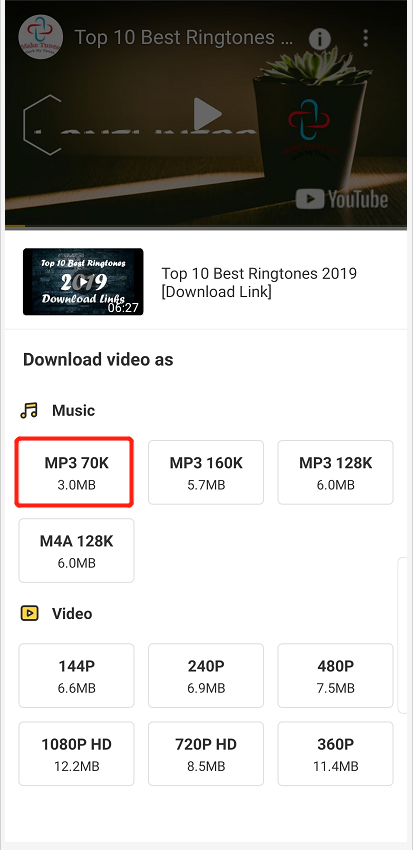 mp4 audio download