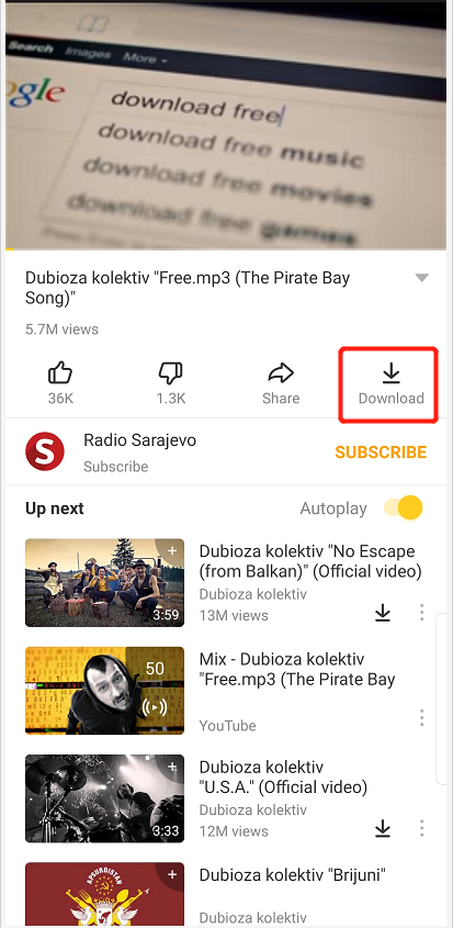 youtube video downloader android