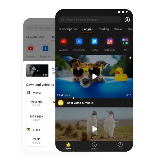 audio video download youtube