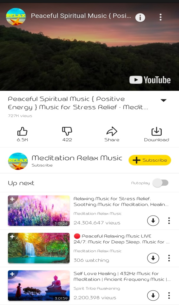 spiritual background music free download